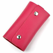 New Mens womens real leather Key Chains Rings Cases Holder bag Purse