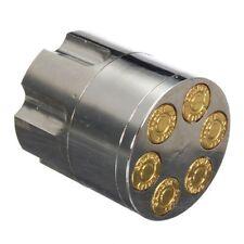 Bullet shape 3 pcs herbal stainless steel tobacco grinder