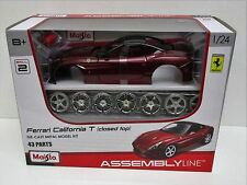 Maisto 25118 - Ferrari California T (Closed Top)  Red      1:24 Diecast Model