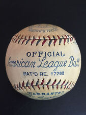 AMAZING EXAMPLE! @@ Reach William Harridge Official American League baseball @@