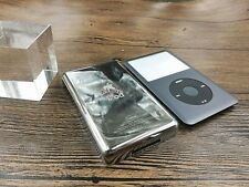 new gary front faceplate metal back housing case for iPod 6th gen classic 160gb
