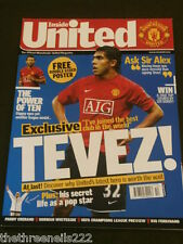 MANCHESTER UNITED - TEVEZ - OCT 2007