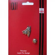 Horses Head Pewter Lapel Pin Badge Pony Club Owner Lover Groom Present GIFT BOX