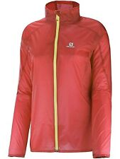 Salomon Women's Fast Wing Jacket, Medium, Coral NEW