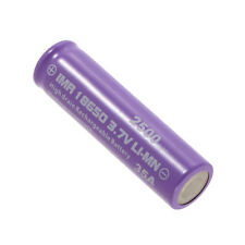 1pc High Drain Rechargeable Battery 18650 35A 3.7v LI-MN 2500mAh Button Top LNXZ