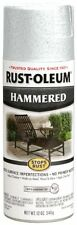 Rust-Oleum 248072 12-Ounce Metal Finish Spray Paint  Hammered White