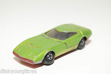 LESNEY MATCHBOX SUPERFAST 52 DODGE CHARGER MK III MET. GREEN EXCELLENT CONDITION