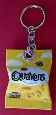 Handmade Novelty Packet Of Quavers  Keyring/Bag Charm