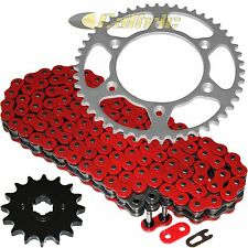 RED O-Ring Drive Chain & Sprockets Kit Fits KTM 520SX Motocross Racing 1999-2002