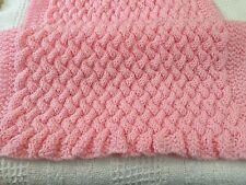 Knitting pattern-  Wicker Basket-weave baby blanket