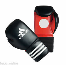 ADIDAS Leather Coach Guantoni Da Boxe 14oz Pad Sparring Sacco Kick Muay Thai aditr 011