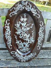 Large Papier Mache Mother of Pearl Wall Hanging   ref 1640