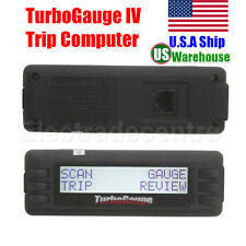 US Ship TurboGauge IV Auto Computer Scan Tool OBD2/EOBD Digital Gauge 4 in 1