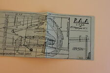 Plan avion blasa P.A.A load Mr R bagot pour V.C.C. P1021