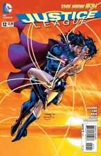 JUSTICE LEAGUE #12 WONDER WOMAN SUPERMAN KISS COVER  DC NEW 52