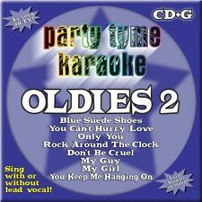 Party Tyme Karaoke - Oldies 2 (8+8-song CD+G) by