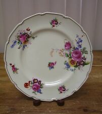 Royal Doulton The Bristol V2080 Salad Plate Pink Rose Yellow Blue Flowers