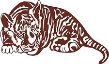 Sleeping Baby tiger 2  wall vinyl decal