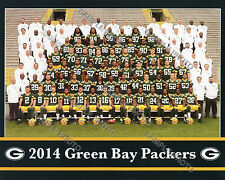 2014 GREEN BAY PACKERS 8X10 TEAM PHOTO PICTURE