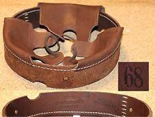 Coiffe intérieure cuir couleur brun casque Allemand M16 WWI taille 68