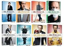 Dvd Dr. HOUSE - Medical Division - Stagioni 1-8 (Box 46 Dischi) ......NUOVO