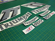 Triumph Tt600 Tt 600 Carenado Panel Y Tanque Reemplazo Calcomanías Stickers