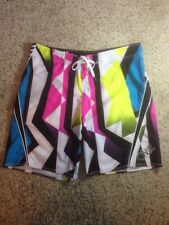 O'NEILL MENS SIZE 38 MULTI COLOR  BOARD SHORTS-Ked