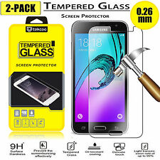 (2 Pack) Tempered Glass Film Screen Protector for Samsung Galaxy Sky / Sol 2016