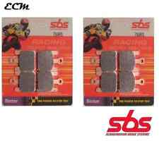 KAWASAKI ZX10R ZX-10R 1000 2006 SBS 788RS SET PASTIGLIE FRENI ANT RACING