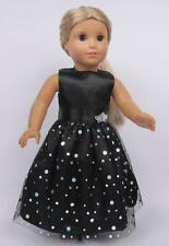 new arrive  Model cute clothes dress for 18inch American girl doll party b28