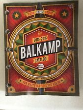 Napa Balkamp 2015-2016 catalog
