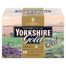 Taylors Yorkshire ORO 160 TEABAGS 500g-venduti in tutto il mondo dal Regno Unito