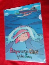 PONYO 3D TYPE A4 Size FILE FOLDER / Original MOVIC / GHIBLI / UK DESPATCH