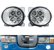 SCANIA SERIES P/G/R/T 2004+ 4 LED FOG DAYTIME RUNNIG LIGHTS RH/OS + LH/OS E4 NEW