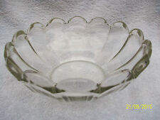 Art Deco Glass Fruit Bowl possibly Chicago by Brockwitz