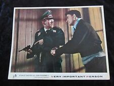 VERY IMPORTANT PERSON lobby card #4 STANLEY BAXTER, JOHN RINGHAM