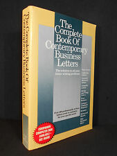 The Complete Book of Contemporary Business Letters by Strategic Communications