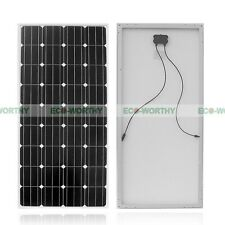 2x160W Watt Solar Panel Photovoltaic Solar Modules 12V for RV Boat Home Charge