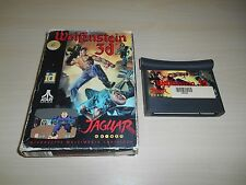 Wolfenstein 3D Atari Jaguar Game & Box 3-D
