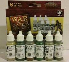 Vallejo acrylic paint. German Infantry paint set #70.154