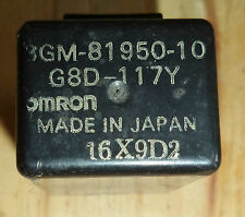 FZR 1000 FZR1000 RELAY G8D-117Y OMRON for YAMAHA '93 '92 '91 - EXCELLENT!