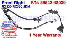 New ABS Wheel Speed Sensor Fits RX330 RX350 Highlander Front Passenger Side JDM