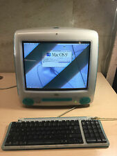 Apple iMac BLUEBERRY - PPC G3 350 MHz -OS 9.2~FREE SHIPPING !