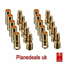 10 pairs 3.5mm GOLD CONNECTORS for LIPO ESC brushless rc 1st Class Post S5