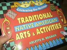 New Age 5+ Traditional Native America Book Art Activity Guide Indian Life Braman