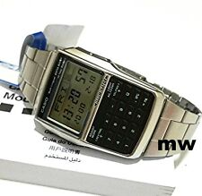 NEW Casio Databank Men's Calculator Dual Time 5 Alarms Watch DBC32 DBC-32D-1A