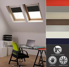 ROLLER BLINDS BLACKOUT FOR ALL VELUX ROOF WINDOWS EASY FIT