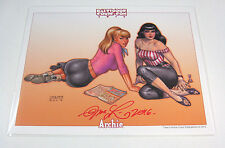 Archie Betty & Veronica Baltimore 2016 Print Signed by Joseph Linsner! COA NEW