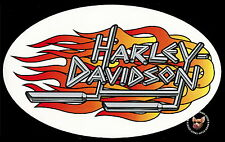 HARLEY DAVIDSON LARGE FLAMING PIPES ** MADE IN THE USA **