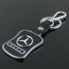 New Mercedes-Benz Series Style Car Keychain Leather Keychain Collect Key Ring